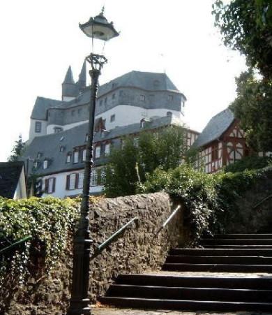 Schlosstreppe, Diez, Schloss